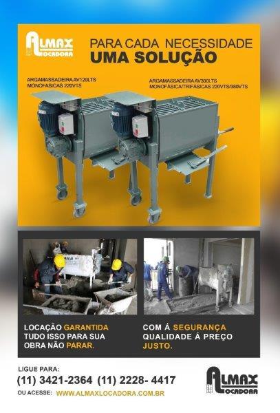 Empresa de locação de equipamentos para construção
